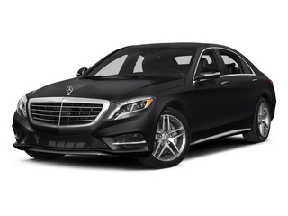 Black 2015 Mercedes-Benz S-Class Pictures S-Class Sedan 4D S550 AWD V8 photos front view
