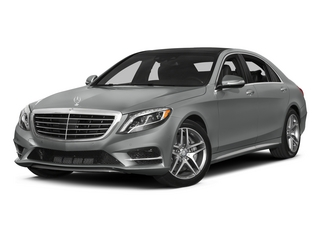 Palladium Silver Metallic 2015 Mercedes-Benz S-Class Pictures S-Class Sedan 4D S550 AWD V8 photos front view