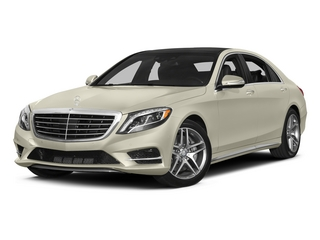 designo Diamond White 2015 Mercedes-Benz S-Class Pictures S-Class Sedan 4D S550 AWD V8 photos front view