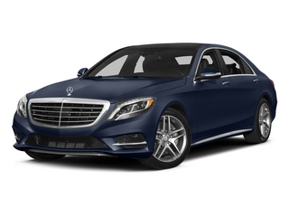 Lunar Blue Metallic 2015 Mercedes-Benz S-Class Pictures S-Class Sedan 4D S550 AWD V8 photos front view
