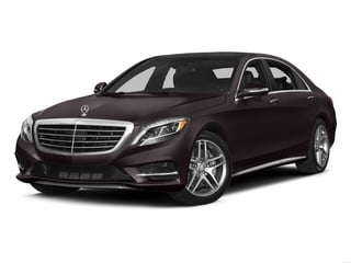 Ruby Black Metallic 2015 Mercedes-Benz S-Class Pictures S-Class Sedan 4D S550 AWD V8 photos front view