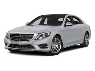 Diamond Silver Metallic 2015 Mercedes-Benz S-Class Pictures S-Class Sedan 4D S550 AWD V8 photos front view