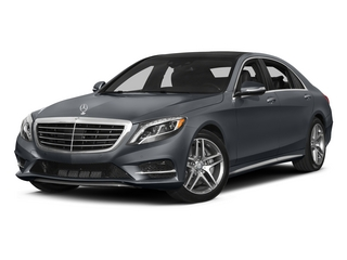 Anthracite Blue Metallic 2015 Mercedes-Benz S-Class Pictures S-Class Sedan 4D S550 AWD V8 photos front view