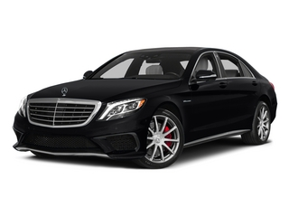 Black 2015 Mercedes-Benz S-Class Pictures S-Class Sedan 4D S63 AMG AWD V8 Turbo photos front view