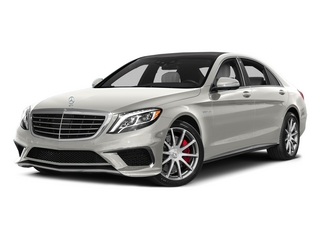 designo Magno Cashmere White (Matte Finish) 2015 Mercedes-Benz S-Class Pictures S-Class Sedan 4D S63 AMG AWD V8 Turbo photos front view