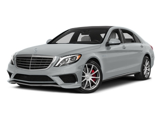 Iridium Silver Metallic 2015 Mercedes-Benz S-Class Pictures S-Class Sedan 4D S63 AMG AWD V8 Turbo photos front view
