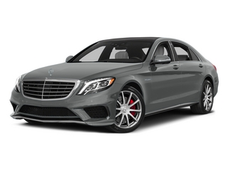 Palladium Silver Metallic 2015 Mercedes-Benz S-Class Pictures S-Class Sedan 4D S63 AMG AWD V8 Turbo photos front view