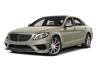 designo Diamond White 2015 Mercedes-Benz S-Class Pictures S-Class Sedan 4D S63 AMG AWD V8 Turbo photos front view