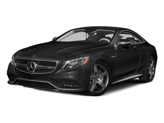 Black 2015 Mercedes-Benz S-Class Pictures S-Class Coupe 2D S63 AMG AWD V8 Turbo photos front view