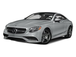 Iridium Silver Metallic 2015 Mercedes-Benz S-Class Pictures S-Class Coupe 2D S63 AMG AWD V8 Turbo photos front view