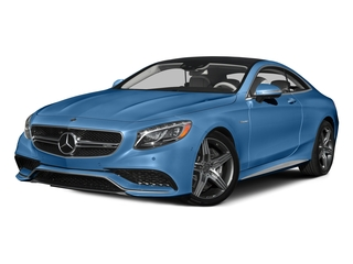 Lunar Blue Metallic 2015 Mercedes-Benz S-Class Pictures S-Class Coupe 2D S63 AMG AWD V8 Turbo photos front view