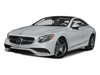 Diamond Silver Metallic 2015 Mercedes-Benz S-Class Pictures S-Class Coupe 2D S63 AMG AWD V8 Turbo photos front view