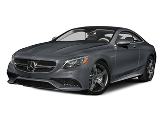 Anthracite Blue Metallic 2015 Mercedes-Benz S-Class Pictures S-Class Coupe 2D S63 AMG AWD V8 Turbo photos front view