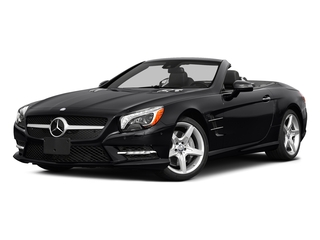 Black 2015 Mercedes-Benz SL-Class Pictures SL-Class Roadster 2D SL550 V8 Turbo photos front view
