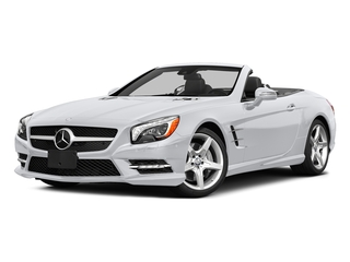 Polar White 2015 Mercedes-Benz SL-Class Pictures SL-Class Roadster 2D SL550 V8 Turbo photos front view