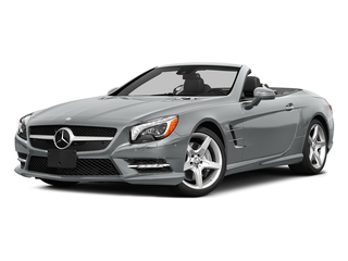 Iridium Silver Metallic 2015 Mercedes-Benz SL-Class Pictures SL-Class Roadster 2D SL550 V8 Turbo photos front view