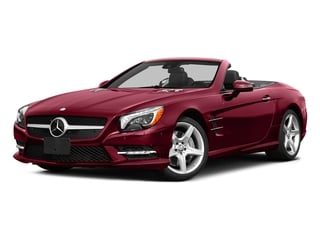 designo Cardinal Red Metallic 2015 Mercedes-Benz SL-Class Pictures SL-Class Roadster 2D SL550 V8 Turbo photos front view