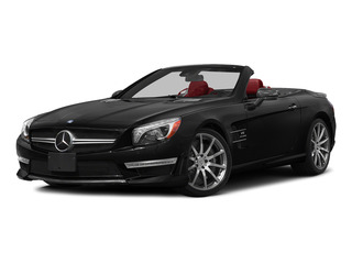 Obsidian Black Metallic 2015 Mercedes-Benz SL-Class Pictures SL-Class Roadster 2D SL63 AMG V8 Turbo photos front view