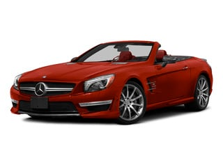 designo Cardinal Red Metallic 2015 Mercedes-Benz SL-Class Pictures SL-Class Roadster 2D SL63 AMG V8 Turbo photos front view