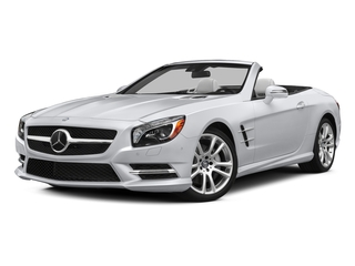 Polar White 2015 Mercedes-Benz SL-Class Pictures SL-Class Roadster 2D SL400 V6 Turbo photos front view