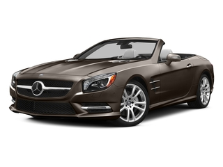 Dolomite Brown Metallic 2015 Mercedes-Benz SL-Class Pictures SL-Class Roadster 2D SL400 V6 Turbo photos front view