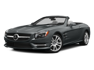 Iridium Silver Metallic 2015 Mercedes-Benz SL-Class Pictures SL-Class Roadster 2D SL400 V6 Turbo photos front view