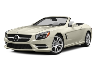 designo Diamond White Metallic 2015 Mercedes-Benz SL-Class Pictures SL-Class Roadster 2D SL400 V6 Turbo photos front view