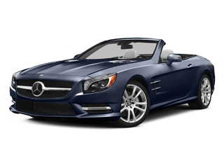 Lunar Blue Metallic 2015 Mercedes-Benz SL-Class Pictures SL-Class Roadster 2D SL400 V6 Turbo photos front view
