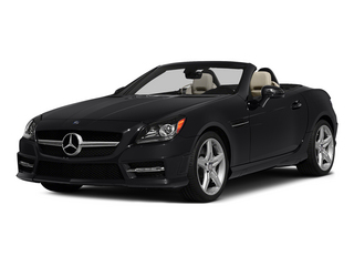 Black 2015 Mercedes-Benz SLK-Class Pictures SLK-Class Roadster 2D SLK250 I4 Turbo photos front view