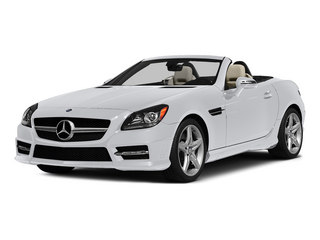 Polar White 2015 Mercedes-Benz SLK-Class Pictures SLK-Class Roadster 2D SLK250 I4 Turbo photos front view