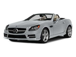 Iridium Silver Metallic 2015 Mercedes-Benz SLK-Class Pictures SLK-Class Roadster 2D SLK250 I4 Turbo photos front view