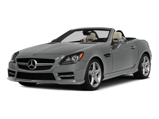 Palladium Silver Metallic 2015 Mercedes-Benz SLK-Class Pictures SLK-Class Roadster 2D SLK250 I4 Turbo photos front view