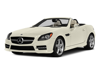 Diamond White Metallic 2015 Mercedes-Benz SLK-Class Pictures SLK-Class Roadster 2D SLK250 I4 Turbo photos front view