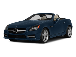 Lunar Blue Metallic 2015 Mercedes-Benz SLK-Class Pictures SLK-Class Roadster 2D SLK250 I4 Turbo photos front view