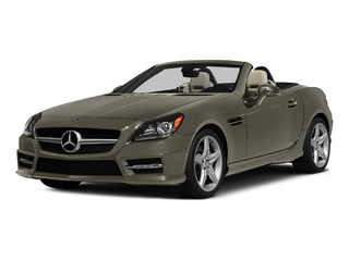 Indium Gray Metallic 2015 Mercedes-Benz SLK-Class Pictures SLK-Class Roadster 2D SLK250 I4 Turbo photos front view