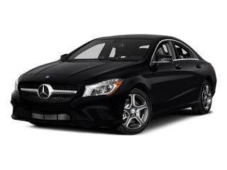 Cosmos Black Metallic 2015 Mercedes-Benz CLA-Class Pictures CLA-Class Sedan 4D CLA250 AWD I4 Turbo photos front view