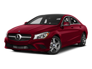 Jupiter Red 2015 Mercedes-Benz CLA-Class Pictures CLA-Class Sedan 4D CLA250 AWD I4 Turbo photos front view