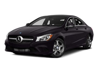 Northern Lights Violet Metallic 2015 Mercedes-Benz CLA-Class Pictures CLA-Class Sedan 4D CLA250 AWD I4 Turbo photos front view