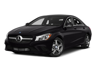 Night Black 2015 Mercedes-Benz CLA-Class Pictures CLA-Class Sedan 4D CLA250 AWD I4 Turbo photos front view