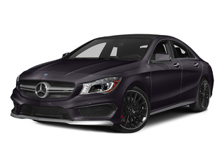 Northern Lights Violet Metallic 2015 Mercedes-Benz CLA-Class Pictures CLA-Class Sedan 4D CLA45 AMG AWD I4 Turbo photos front view