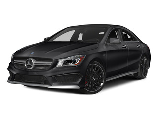 Night Black 2015 Mercedes-Benz CLA-Class Pictures CLA-Class Sedan 4D CLA45 AMG AWD I4 Turbo photos front view