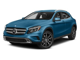 South Seas Blue Metallic 2015 Mercedes-Benz GLA-Class Pictures GLA-Class Utility 4D GLA250 AWD I4 Turbo photos front view