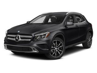 Cosmos Black Metallic 2015 Mercedes-Benz GLA-Class Pictures GLA-Class Utility 4D GLA250 AWD I4 Turbo photos front view