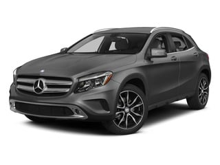 designo Mountain Gray Magno 2015 Mercedes-Benz GLA-Class Pictures GLA-Class Utility 4D GLA250 AWD I4 Turbo photos front view