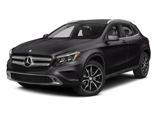 Night Black 2015 Mercedes-Benz GLA-Class Pictures GLA-Class Utility 4D GLA250 AWD I4 Turbo photos front view