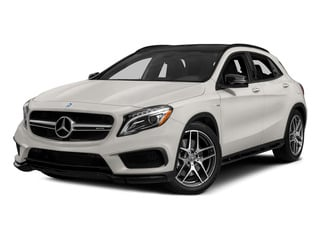 Cirrus White 2015 Mercedes-Benz GLA-Class Pictures GLA-Class Utility 4D GLA45 AMG AWD I4 Turbo photos front view