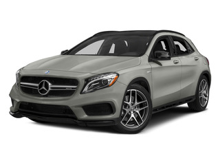 Polar Silver Metallic 2015 Mercedes-Benz GLA-Class Pictures GLA-Class Utility 4D GLA45 AMG AWD I4 Turbo photos front view