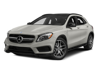 Pearl Silver Metallic 2015 Mercedes-Benz GLA-Class Pictures GLA-Class Utility 4D GLA45 AMG AWD I4 Turbo photos front view
