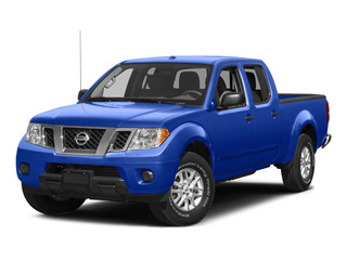Metallic Blue 2015 Nissan Frontier Pictures Frontier Crew Cab SV 2WD photos front view