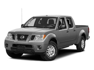 Brilliant Silver 2015 Nissan Frontier Pictures Frontier Crew Cab S 2WD photos front view